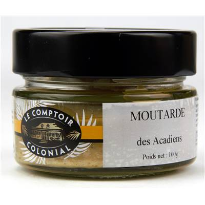 Moutarde des Acadiens - 100g